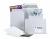 Vollpapp-Versandtasche, 235 x 305 mm, 500g/qm, weiss, mit Selbstklebeverschluss
