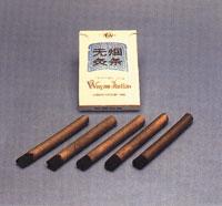 Moxa-Zigarre hart, raucharm und geruchlos, (Pack á 5 Stück)