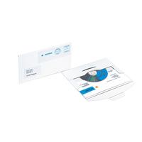 Datenträger-Versandtasche, CD-PostPack, weiß, 220 x 124 mm, 25 St.
