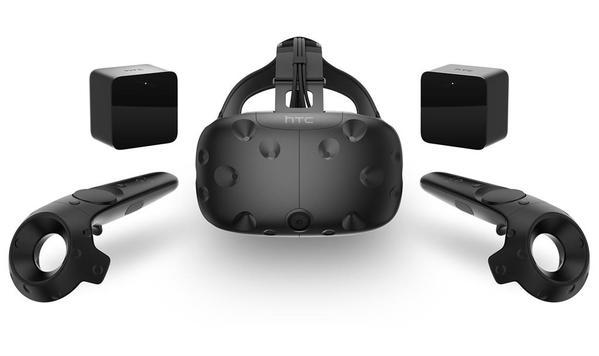 HTC Vive Virtual Reality Headset - 99HALN004-00