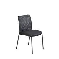 Krzesło dla gości z oparciem siatkowym