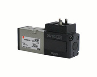 SMC EVK3120-5DO-01F-Q 5-Port Solenoid Valve
