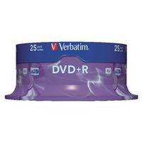 Verbatim DVD+R 4.7 gb 25 stuks