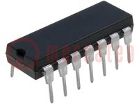 D/A konverter; 12bit; Csatorna:2; 2,7÷5,5V; DIP14; Max INL: ±12LSB
