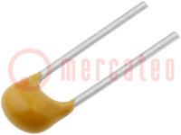 Kondensator: Keramik; MLCC, monolithisch; 10nF; 100V; X7R; ±10%; THT
