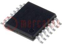 Műveleti erősítő; 5MHz; 2,2÷5,5VDC; Csatorna:4; TSSOP14