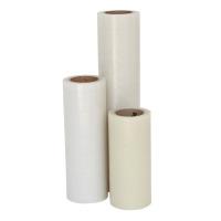 PE-Schutzfolie, leicht haftend, 330 mm breit x 100 lfm., 50µ, transparent
