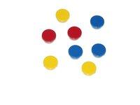 Okrągłe magnesy neodymowe - żółte