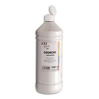 ART PLUS Gouache concentrée 1 litre Blanc