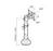 NewStar Flachbildschirm-Tischhalterung, FPMA-D025SILVER