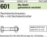 DIN601 M10x80
