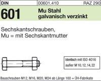 DIN601 M20x85