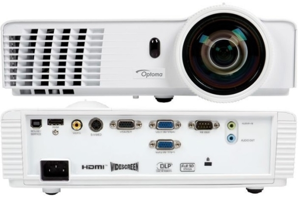 Optoma GT760 3400 Lumen WXGA házimozi projektor - 95.8TN01GC1E