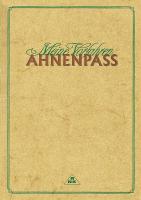 Ahnenpass ohne Ahnenzahlen, 36 Seiten, DIN A5, Kartonumschlag in Einsteckhülle