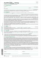 Aushilfs Arbeits Und Anstellungsvertrag 1 Seite Din A4 Bei