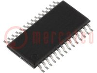 Mikrocontroller MSP430; SRAM:512B; Flash:16kB; 16MHz; TSSOP28