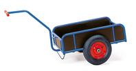 Handwagen 4108 mit Wänden, 1-Achser, Luftbereifung, Tragkraft 400 kg