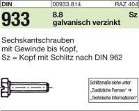 DIN933 M6x25