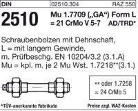 Schraubenbolzen LM33x160