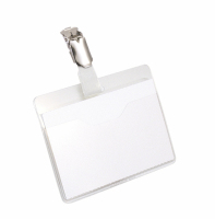 Durable Visitor Name Badge