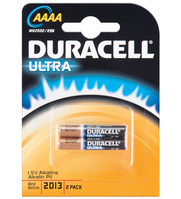 Duracell® Batterie Alkali LR 61 (AAAA); 2er Pack in Blister