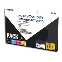 ARMOR Pack Jet d'encre compatible HP CD975AE BCMY B10319R1