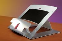 ErgoSummit-laptopstand, portable and fully adjustable