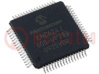 Controller Ethernet; 10/100Base-T; SPI / flexible Parallel