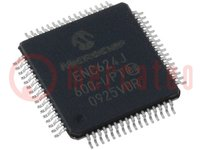 Controller Ethernet; 10/100Base-T; SPI / flexible Parallel