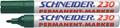 Schneider permanent marker Maxx 230 groen