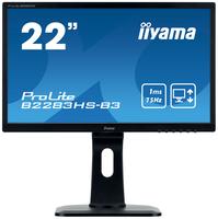 iiyama ProLite B2283HS-B3 LED display 54,6 cm (21.5 Zoll) 1920 x 1080 Pixel Full HD Flach Matt Schwarz