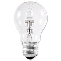 GE Light Bulb Energy Saving GLS Halogen Screw Fitting 77W Clear Ref 79423