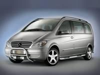 Frontbügel für Mercedes-Benz Vito/Viano, Bj. 2003-2010, Edelstahl
