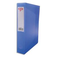 5 ETOILES Boîte de classement dos de 8 cm, en polypropylène 7/10e bleu