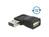Adapter EASY-USB 2.0 A Stecker an USB 2.0 A Buchse gewinkelt links / rechts, Delock® [65522]