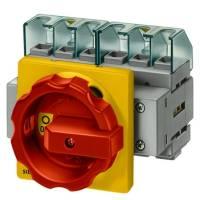Hauptschalter 16A 4p IP65 Einb WartRep Festeinbau Sicherheitsschalter NOT-AUS