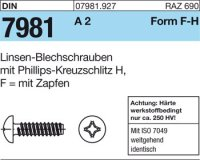 Blechschrauben 3,5x16-F-H