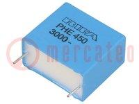 Kondensator: Polypropylen; 22nF; 22,5mm; ±5%; 26x13,5x23mm; 3kVDC