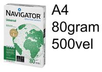 KOPIEERPAPIER NAVIGATOR UNIVERSAL A4 80GR WIT