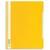 DURABLE Chemise de présentation à lamelles A4+ - gouttière de passage - couverture pvc transparente Jaune