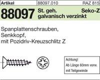 Spanplattenschrauben 4x45-Z