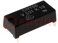 Optocsatoló; THT; Csatorna:1; Kim: tranzisztor; Uszig:8,3kV; 4pin