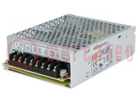 Tápegység: impulzusos; modul; 62,5W; 5VDC; 129x98x38mm; 12VDC; 440g