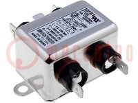 Filter: Entstörkondensator; 250VAC; IBetrieb max:10A; Ir:0,36mA
