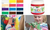 "KREUL Fingerfarbe ""MUCKI"", braun, 150 ml (57600100)"