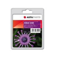 AgfaPhoto APK10B inktcartridge Zwart 1 stuk(s)