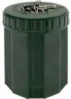 Büroklammernbox grün NOSTALGIE aus Bakelit®