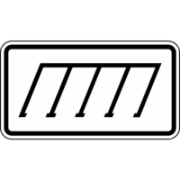 Modellbeispiel: VZ Nr. 2402, (Parkordnung, rechts)