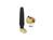 Antenne SMA ISM 433 MHz 1 dBi omnidirektional flexibel schwarz, Delock® [88915]