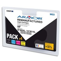 ARMOR Pack Jet d'encre compatible HP CN045AE BCMY B10312R1